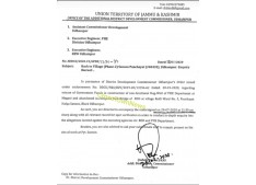 Udhampur Administration orders enquiry regarding misuse of funds by PHE/RDD