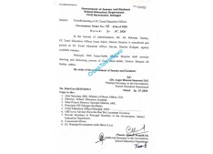 Transfers and postings of Zonal Education Officers