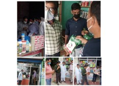 DC Pulwama takes strict action against  substandard Insecticides /Pesticides selling dealers