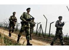 Massive search operations along India-Pakistan border in Hiranagar sector in Kathua district of J&K