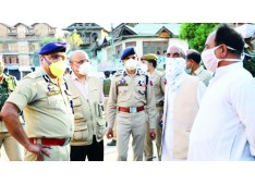 Chief Secretary, DGP review security, deployment arrangements in Srinagar