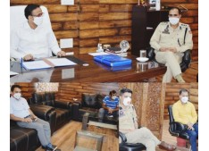 DM Doda reviews law & order, COVID-19 containment measures in district