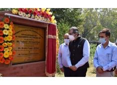 Advisor Baseer Khan inaugurates Hi-Tech Nursery in Srinagar