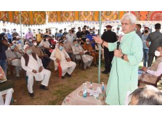 LG J&K Manoj Sinha visits Khanmoh on occasion of Block Diwas
