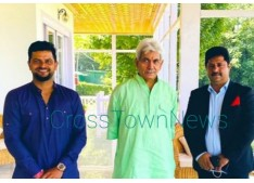 Cricketer Suresh Raina calls on LG J&K Manoj Sinha