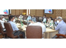 FC Health, Central Team review COVID-19 Control measures in 6 districts