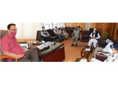 Navin Choudhary reviews arrangements for transportation of fruit crops: Directs for hassle free movement of fruit laden trucks