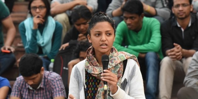Shehla Rashid's Father writes to J&K DGP alleging she took Rs. 3 Cr to join JKPM