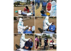 Jammu Sanskriti School conducts Rapid Tests for Corona