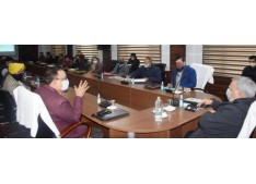 Advisor Farooq Khan reviews functioning of Horticulture Department, infrastructural needs of Fruit & Vegetable Mandi Complex Narwal