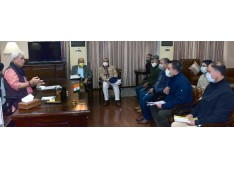 Delegation of J&K Civil Secretariat (Non-Gazetted) Employees Union calls on Lt Governor