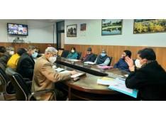Div Com Jammu reviews progress of land acquisition newly sanctioned GDCs, KVs
