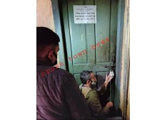 JMC evicted municipal flat  illegally occupied by the then Retired Revenue Officer