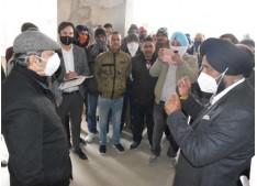 Advisor Baseer Khan visits Satrayan, Gharana, Parlah; inspects RDD, PDD works