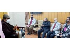Jammu Hotels Association, JK Welfare Federation call on Advisor Baseer Khan, Assures to sort out issues