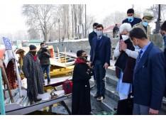 LG Manoj Sinha conducts whirlwind tour of Srinagar City