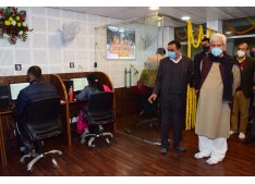 Lt Governor inaugurates Shri Mata Vaishno Devi Shrine Board's hi-tech Call Centre for devotees