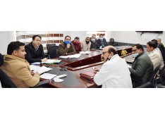 DC Udhampur  reviews progress of PMGSY projects