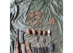 Terrorists Hideout busted in Poonch ; Arms recovered
