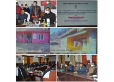 Advisor Baseer reviews development works being executed in Doda; inaugurates 1853 PMAY houses, RDD's community works