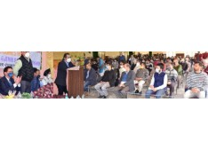 Advisor Baseer Khan visits Durga Nagar; Reviews facilities for Kashmiri migrants