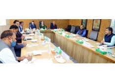 Delimitation Commission holds a meeting on the process of delimitation in J&K