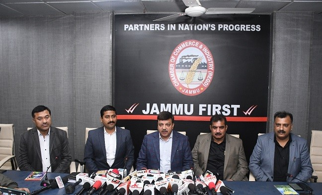 No major economic activity after abrogation of Article 370 in J&K, now burden of Property Tax: CCI Jammu
