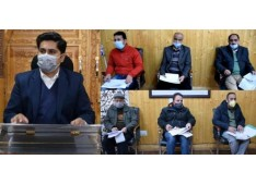 DC Bandipora reviews Capex Budget for current financial year