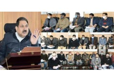 DC reviews functioning of Revenue Department, directs revenue officers to submit monthly report