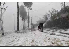 Possibility of light rain /snow at isolated to scattered places of J&K during next 24 hours