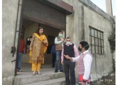 Anoo Malhotra inspects Industrial units in Jammu/Samba