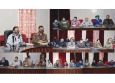 Deputy Commissioner Doda briefs Magistrates, Observers their role