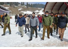 DC Baramulla takes stock of arrangements for Khelo-India Winter Games