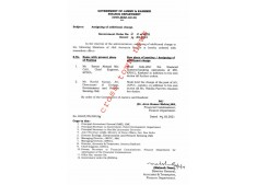 Assignment of additional Charge to Chief Accounts Officer/Accounts Officer