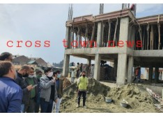 Chhibber Reviews Construction Of Govt Quarters In Pampore: directs officers to ensure timely completion