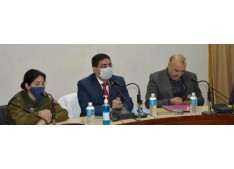 DDC Rajouri reviews implementation of Flagship schemes: asks for complete work within set deadlines