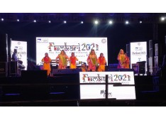 Colourful performances mark second day of Fulkari 2021 being organized by Tourism dept Jammu