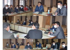 DDC Kulgam reviews status of Health sector work projects: Sets timeline for completion of several projects