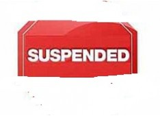 Operations of 38 erring retail medical shops suspended u/s 22 (d) of Drugs & Cosmetics Act
