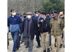 Advisor Bhatnagar visits Nunwan Base Camp, reviews Yatra arrangements