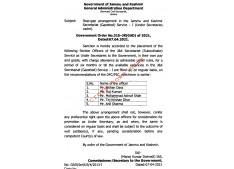 Stop Gap arrangement in J&K Secretariat Service