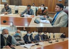 DC Srinagar takes stock of Srinagar Sewerage project
