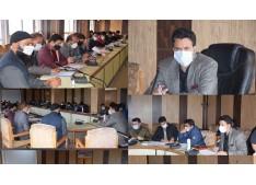 DDC Kulgam reviews implementation of flagship schemes