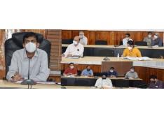DC Jammu discusses formulation of District Capex Plan 2021-22