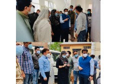 DC Srinagar visits JLNM Hospital; Sets deadline of 5 days for Oxygen Plant