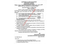 Manoj Dwivedi constitutes high level Committee into illegal mining/operations by Stone Crushers in Jammu