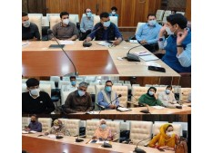 DC Srinagar chairs meeting, reviews Covid-19 control measures