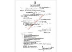 Placement of Superintending Engineers as Chief Engineers
