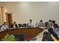 DM Rajouri review functioning of prosecution wing