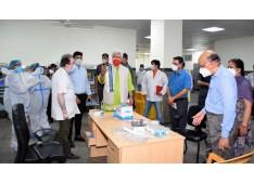 LG J&K visits GMC & CD Hospital Jammu; Directs Regular rounds by HoDs/Senior Doctors